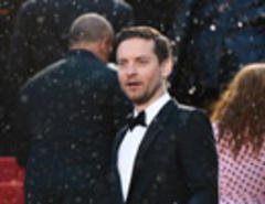 Best Photo from Cannes So Far: Tobey in the Rain