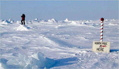 North Pole Moves, Global Warming Blamed, But Is It Climate Change Or Chandler Wobble?
