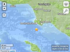 Earthquake Rattles South Bay