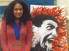 Port Chester H.S. Junior Wins NAACP Awards for Her Art