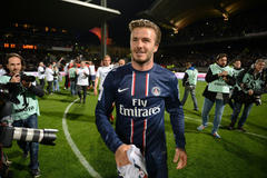 David Beckham of Paris Saint-Germain to retire from pro soccer