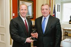 Senator Richard Durbin Awarded 2013 Charter School Champion Award by National Alliance of Public Charter Schools