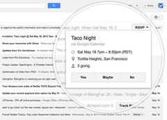 Gmail gets quick action buttons that let you RSVP to events & more from your inbox